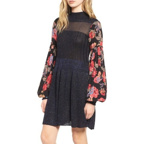 80af3eb74d1 Free People Dresses   Skirts - Free People Rose and Shine Sweater Dress